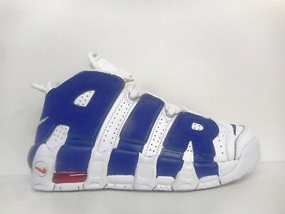 Nike Air More Uptempo Boys Basketball Shoes 415082-103 Select Size