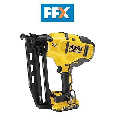 DeWalt DCN660D2 18v XR Brushless Second Fix Nailer 2 x 2.0Ah Li-Ion