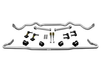 Whiteline 2015-2018 Subaru Wrx 2.0L 2.0T Front And Rear Sway Bar Kit Adjustable