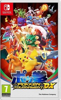 Pokken Tournament DX Pokemon Nintendo Switch Brand New Sealed PAL
