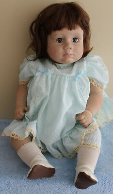 "ZOOK 1988 -  ""ANDREA"" #740 DOLL - VINYL HEAD, ARMS, LEGS - 20"" - Displayed"