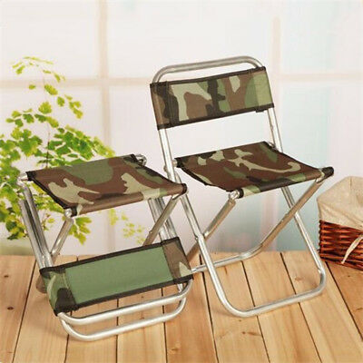 1Pc Oxford Cloth Folding Chair Foldable  Chair Camouflage Stool Fishing Chair