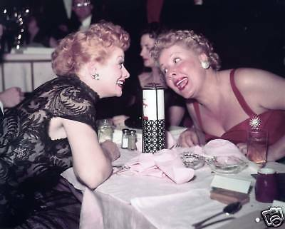 """Lucille Ball / Vivian Vance """"I Love Lucy""""  5x7 1950's Sitcom FREE US SHIPPING"""