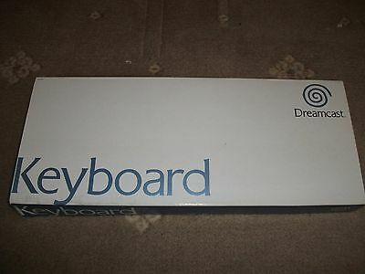 NEW GENUINE ORIGINAL SEGA - Boxed OFFICIAL Dreamcast Keyboard - PAL/FRENCH