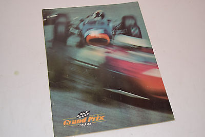 "1966 Movie ""Grand Prix"" Cinerama Program"