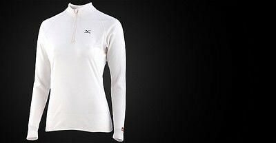 MIZUNO Breath thermo 1/2 zip long Sleeve neuf emballé taille XL Femme