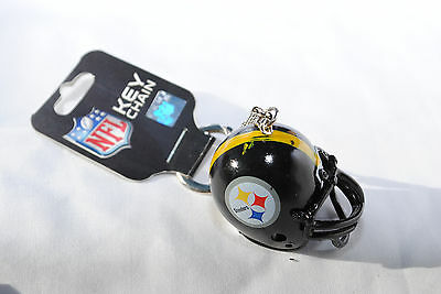 Pittsburgh Steelers Helmet Keyring
