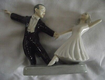 Bairstow Manor Pottery Ltd Ed 90 of 250 Fred Astaire & Ginger Rogers