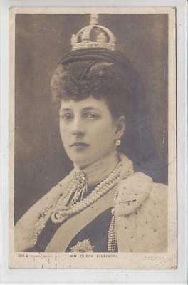 AK Great Britain, Queen Alexandra, 1905