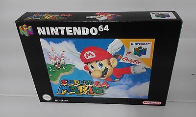Super Mario 64 (N64) (Caja + Interior) (Only Box)