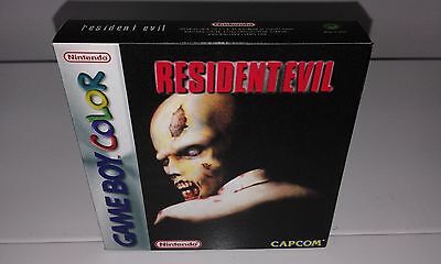 Resident Evil (Game Boy Color) (Caja + Interior) (Only Box)