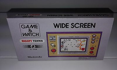 Snoopy Tennis - Wide Screen (Game And Watch) (Caja + Corcho) (Only Box)