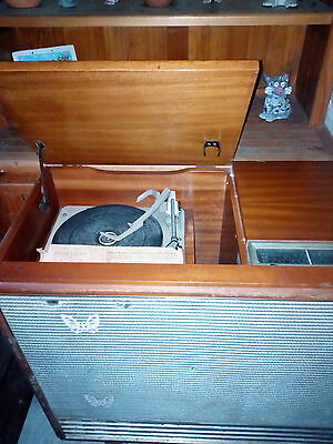 Vintage Garrard Radio Record Player