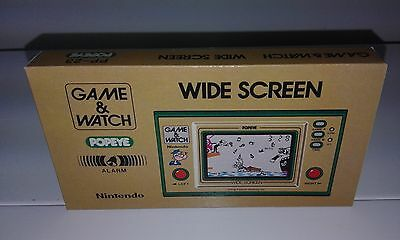 Popeye - Wide Screen (Game And Watch) (Caja + Corcho) (Only Box)