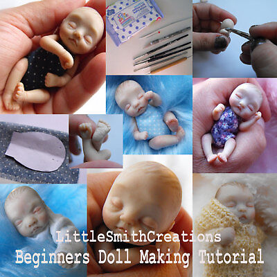 OOAK Polymer Clay Beginners Baby Art Doll Making Tutorial