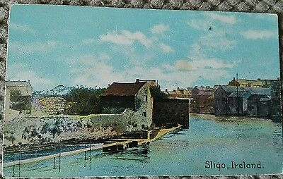 Vintage Postcard Sligo,  Ireland.