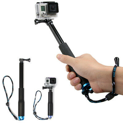 "For Gopro Hero 5 4 Sessions Selfie Stick 36"" Adjustable Telescoping Monopod Pole"