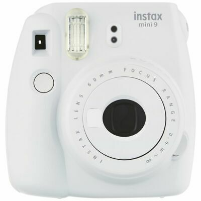 Fuji Instax Mini 9 Camera Smoky White