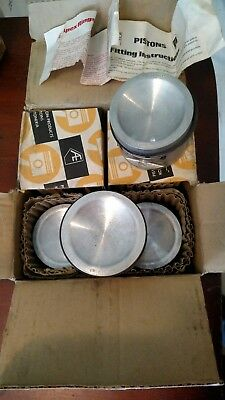 NOS AE Pistons 19354A 020 Set of 4 MGB