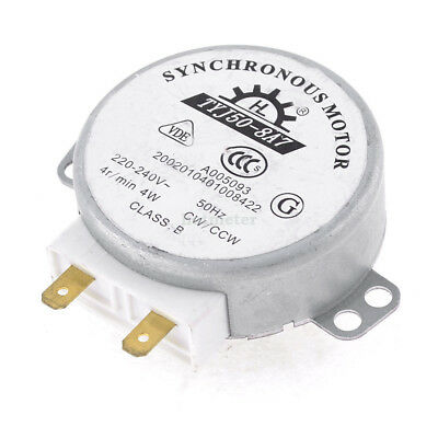 TYJ50-8A7 220-240V 50/60Hz 4Watt 4RPM Micro Synchronous Motor for Microwave Oven