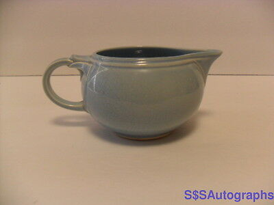 1938 Windsor Blue Pastel Vintage Luray Pastels Taylor Smith Taylor Ts&t Creamer