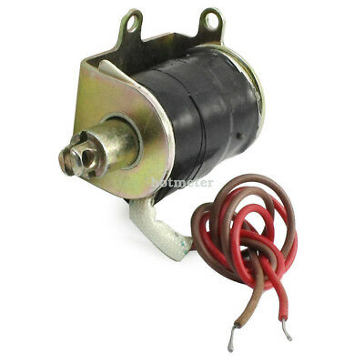 H● SAL- 02 AC 220V 10 mm Stroke 0.3 N Force Tubular Electric Solenoid E