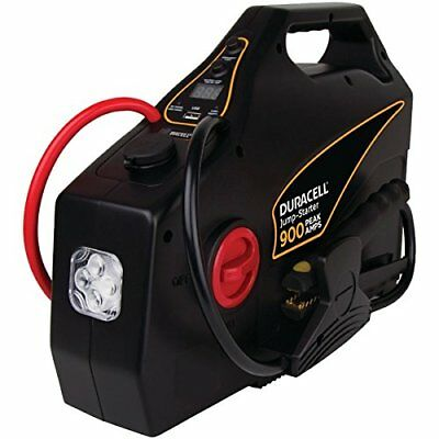 Duracell Drjs30 Portable Emergency Jump Starter [900 Amps Peak; 8 Cylinders &