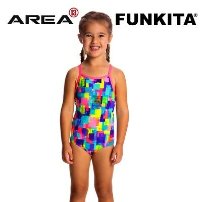 Funkita Madam Monet Toddler Girls Printed One Piece , Toddler Girls One Piece Sw