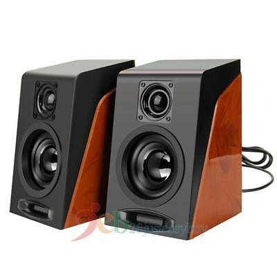 Ancient Desktop Laptop Notebook PC Subwoofer USB 3.5mm Powered Computer Speakers