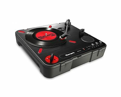 Numark PT01 Scratch | Portable Turntable with Built-In DJ Scratch Switch Spea...