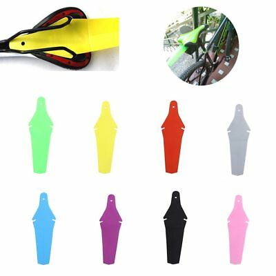 Outdoor Bicycle Extended Rear Ass Fender Saddle Clip Mudguards Road MTB saver