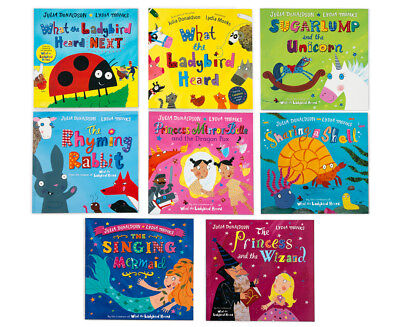 The Julia Donaldson & Lydia Monks Picture 8-Book Collection