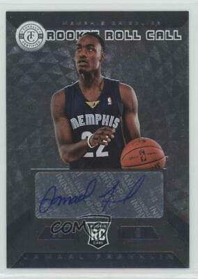 2013 Totally Certified Rookie Roll Call Signatures Silver Jamaal Franklin Auto