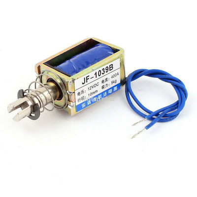 H● Spring Loaded Push-Pull Open Frame Solenoid Electromagnet