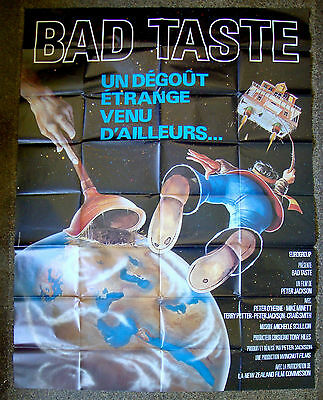 BAD TASTE Peter Jackson LARGE-SIZE French Horror Movie POSTER
