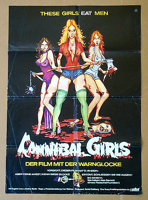 CANNIBAL GIRLS Eugene Levy ANDREA MARTIN 23x33 GERMAN POSTER
