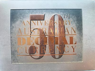 50th Anniversary of Australian Decimal Currency 2016 1oz Silver Proof 2-Coin Set