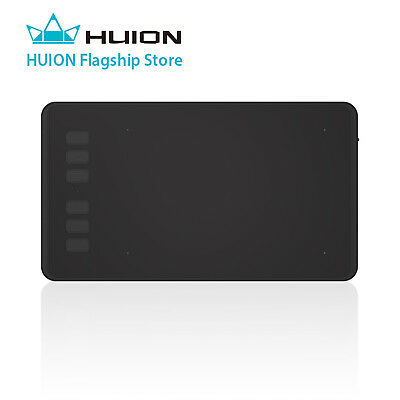 HUION H640P Graphics Art Drawing Tablet 8192 Pressure Battery-free Stylus Pen