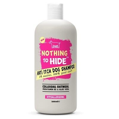 Dog Shampoo For Itchy Skin 500 ml Hypoallergenic Fragrance Free Formula New