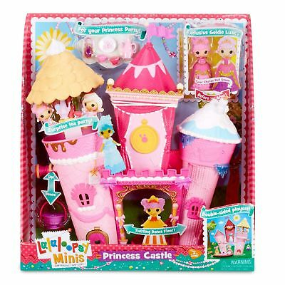 LALALOOPSY MINIS PRINCESS CASTLE WITH EXCLUSIVE GOLDIE LUXE Brand New in Box