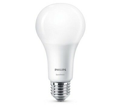 Philips LED SceneSwitch A60 E27 Lampe 2200-2700K wie max. 100W