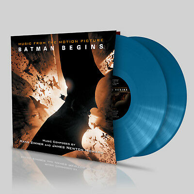 Batman Begins OST Hans Zimmer & James Newton Howard - Bhutan Blue Flower Vinyl