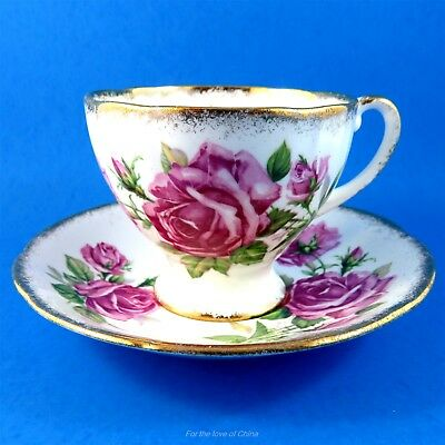 Pretty Pink Royal Standard Orleans Rose Tea Cup and Saucer Set