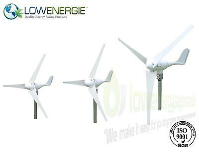 Wind Turbine Generator Kit Boat Off Grid Power Low Start Up Speed Charge Control