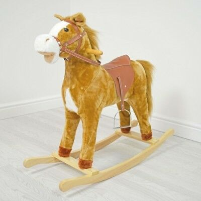 Cuddles Rocking Horse - Autumn Large