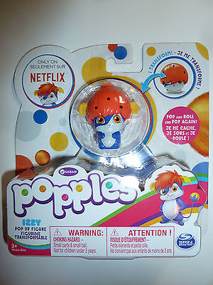 Popples Izzy pop up figurine figure toy Netflix cartoon series character NEW!