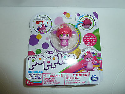 Popples Bubbles pop up figurine figure toy Netflix cartoon series character NEW!