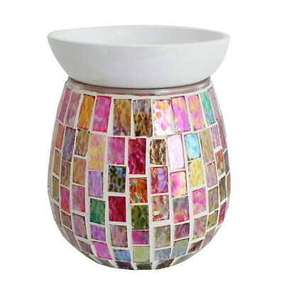 Electric Mosaic Wax Tart Melt Burner Lamp Scented Fragrance Aroma Warmer