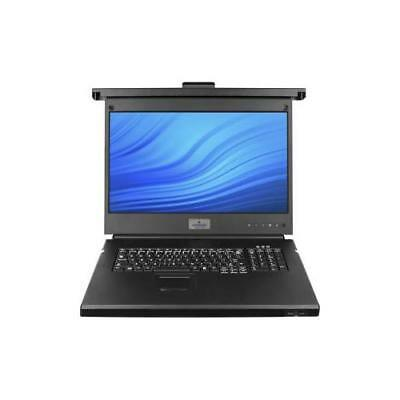 AVOCENT 18.5 LCD, USB KB, 2USB Pass, 8P-UK ENG LRA185KMM8-201