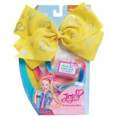 Nickelodeon - Jo Jo Siwa - Bodacious Bow Yellow - Brand New